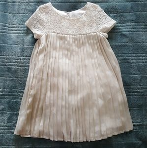 Ivory toddler dress